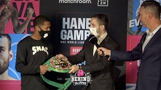 WHO'S THE REAL CHAMP? - WBC PRESENTS DEVIN HANEY WITH HIS LIGHTWEIGHT CHAMPIONSHIP BELT
