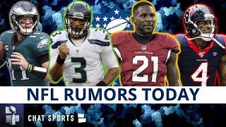 NFL Trade Rumors On Russell Wilson, Deshaun Watson, Carson Wentz + Patrick Peterson Free Agency News