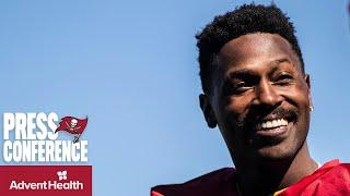 Antonio Brown on Signing with Bucs, Playing with Tom Brady | Press Conference