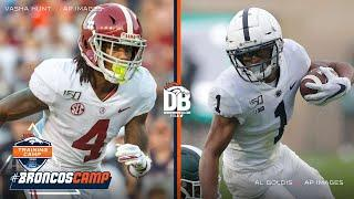 Who will shine more as a rookie, Jerry Jeudy or KJ Hamler? | Countdown to Camp