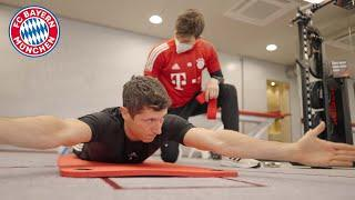 How Robert Lewandowski worked his way back on the pitch