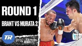 Ryota Murata & Rob Brant combine for over 150 punches in Round 1 rematch | GREAT ROUND IN BOXING