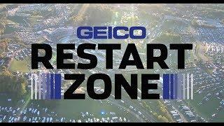 Tempers flare at Martinsville in GEICO Restart Zone