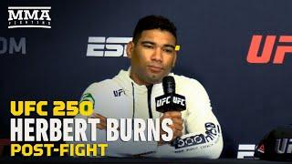 UFC 250: Herbert Burns Calls Out Ryan Hall, Bryce Mitchell for 'Fight Island' - MMA Fighting