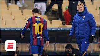 Lionel Messi's red card: A sign of frustration, or nothing for Barcelona to worry about?| ESPN FC