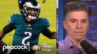 Jalen Hurts not a lock to start for Eagles in 2021 | Pro Football Talk | NBC Sports