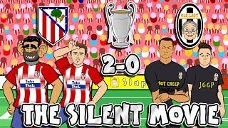 Atletico Madrid vs Juventus: The Silent Movie (2-0 Parody Goals Highlights Champions League 2019)