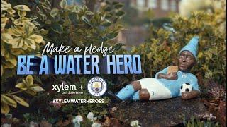 Manchester City and Xylem present: Be A Water Hero