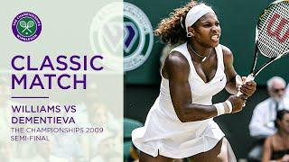 Serena Williams vs Elena Dementieva | Wimbledon 2009 Semi-final | Full Match