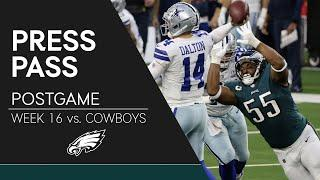 Eagles Players React to Loss to Cowboys | Eagles Press Pass