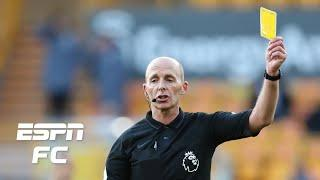 Has there ever been a Premier League referee as card happy as Mike Dean?   ESPN FC Extra Time