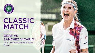 Steffi Graf vs Aranxta Sanchez Vicario | Wimbledon 1995 Final | Full Match