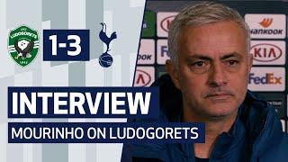 INTERVIEW | JOSE MOURINHO ON 3-1 WIN AGAINST LUDOGORETS