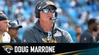 Doug Marrone Meets with the Media During Jaguars Training Camp
