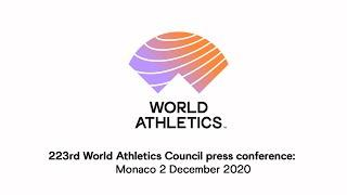 223rd World Athletics Council press conference
