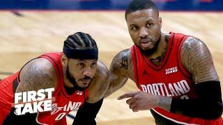 Damian Lillard and the Blazers are under pressure now - Max Kellerman | First Take
