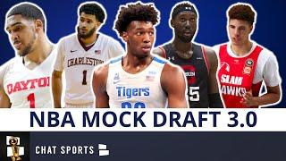 NBA Mock Draft 3.0: Full Two-Round Predictions For All 60 Picks In The 2020 NBA Draft