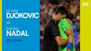 Novak Djokovic v Rafael Nadal - Final | AO2012