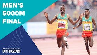 Men's 5000m Final | World Athletics Championships Doha 2019