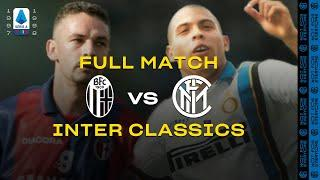 INTER CLASSICS | FULL MATCH | BOLOGNA vs INTER | BAGGIO vs RONALDO | 1997/98 SERIE A