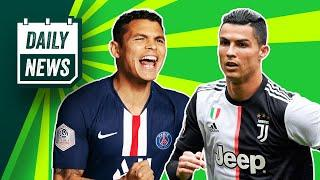 Thiago Silva to find NEW club! + Champions League moved to Portugal?  Daily News