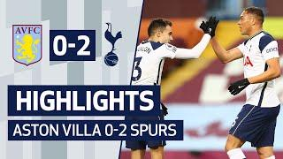 VINICIUS & KANE SEAL RETURN TO WINNING WAYS | ASTON VILLA 0-2 SPURS