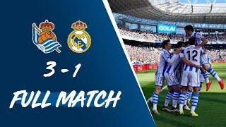 FULL MATCH | Real Sociedad 3-1 Real Madrid LaLiga 2018/19