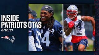 Inside Patriots OTAs: Dont'a Hightower Back at Practice & A Look at the Offense (6/10)