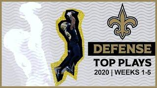 Saints Defense Highlights - 2020 Top Plays from Weeks 1-5