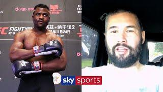Tony Bellew believes Francis Ngannou stands ZERO chance in a boxing ring vs Dillian Whyte!