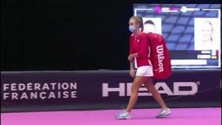M. Frech vs. F. Ferro | 2021 Lyon Round 1 | WTA Match Highlights