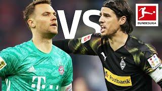 Manuel Neuer vs Yann Sommer | Two Reaction Kings - Goalkeepers go Head to Head