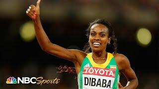 """Dibaba breaks """"unbreakable"""" 22 year old 1500m world record in 2015 
