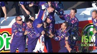 Victory Lane: Denny Hamlin after clutch Phoenix win: 'That's all I got' | NASCAR Playoffs