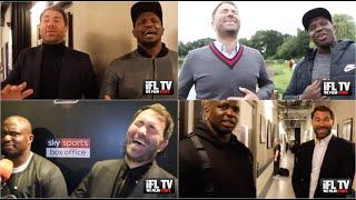 EDDIE HEARN v DILLIAN WHYTE - THE AWKWARD, HEATED & HILARIOUS CONFRONTATIONS (VERY STRONG LANGUAGE)