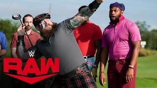 The Street Profits and The Viking Raiders play golf: Raw, May 25, 2020