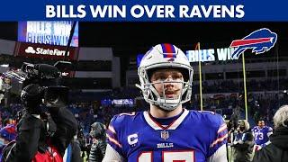 Breaking Down the Bills Win over the Ravens to Advance to the AFC Championship   Chopping Wood