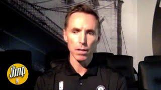 Steve Nash responds to the criticism of him getting hired as Nets head coach | The Jump