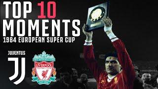 Juventus Win the 1984 European Super Cup! | Juventus v Liverpool | Champions of Europe!