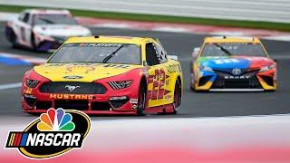 Coke Family Racing Highlights from Bank of America Roval 400 | Motorsports on NBC