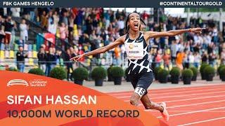 Sifan Hassan smashes 10,000m world record | FBK Games Hengelo