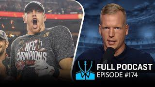 Is George Kittle underpaid? + Hard Knocks reactions | Chris Simms Unbuttoned (Ep. 174 FULL)