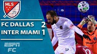 FC Dallas STUN Gonzalo Higuain and Inter Miami in late comeback | ESPN FC MLS Highlights