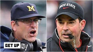 Michigan's Jim Harbaugh accuses Ohio State's Ryan Day of breaking on-field rules | Get Up