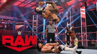 Viking Raiders vs. Ricochet & Cedric Alexander vs. Andrade & Angel Garza: Raw, July 27, 2020