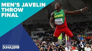 Men's Javelin Final | World Athletics Championships Doha 2019