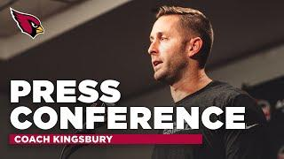 Kingsbury: Players have a Unique Perspective to Inspire & Promote Change   Arizona Cardinals