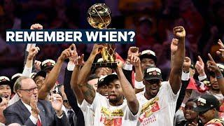 Remember When The Toronto Raptors Won Their FIRST NBA TITLE?!