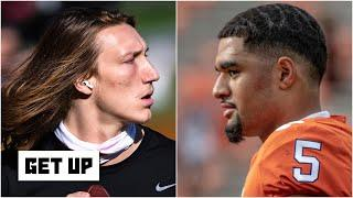 Can Clemson beat Notre Dame without Trevor Lawrence & D.J. Uiagalelei starting at QB? | Get Up
