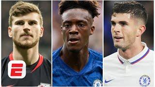Timo Werner to Chelsea threatens Tammy Abraham more than Christian Pulisic - Craig Burley | ESPN FC